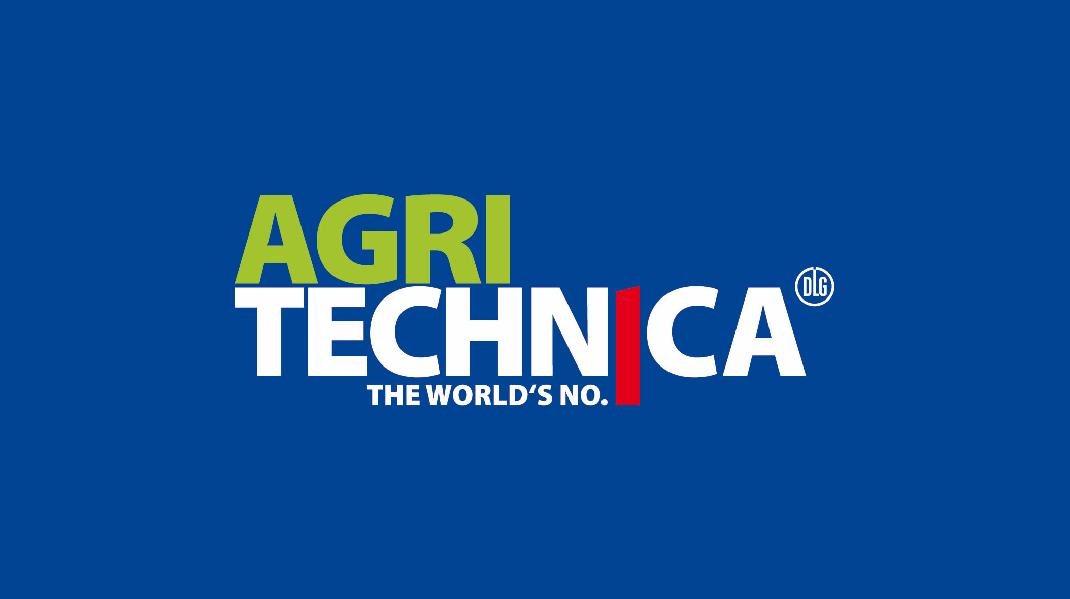 Messelogo Agritechnica 2017 Hannover Fläche