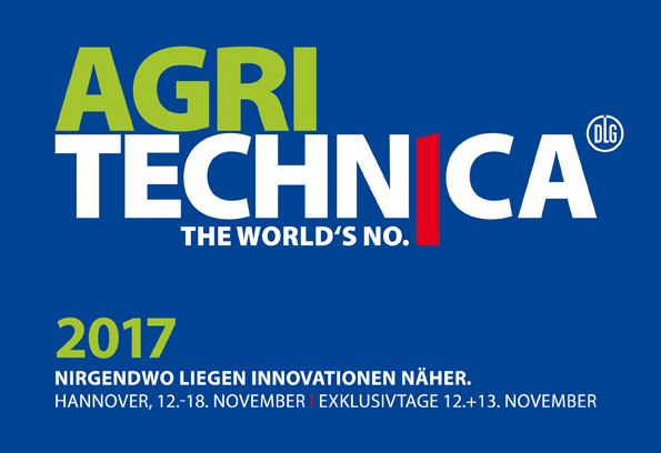Messelogo Agritechnica 2017 Hannover