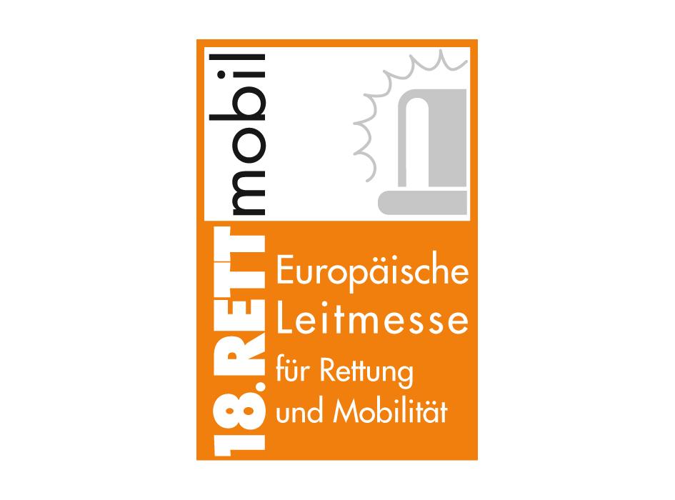 Messelogo 18. RETTmobil Fulda 2018