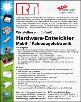 Anzeige Hardware-Entwickler Mobil