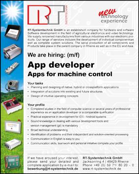 job offer app developer
