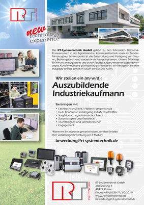 Anzeige Azubi-Industriekaufmann